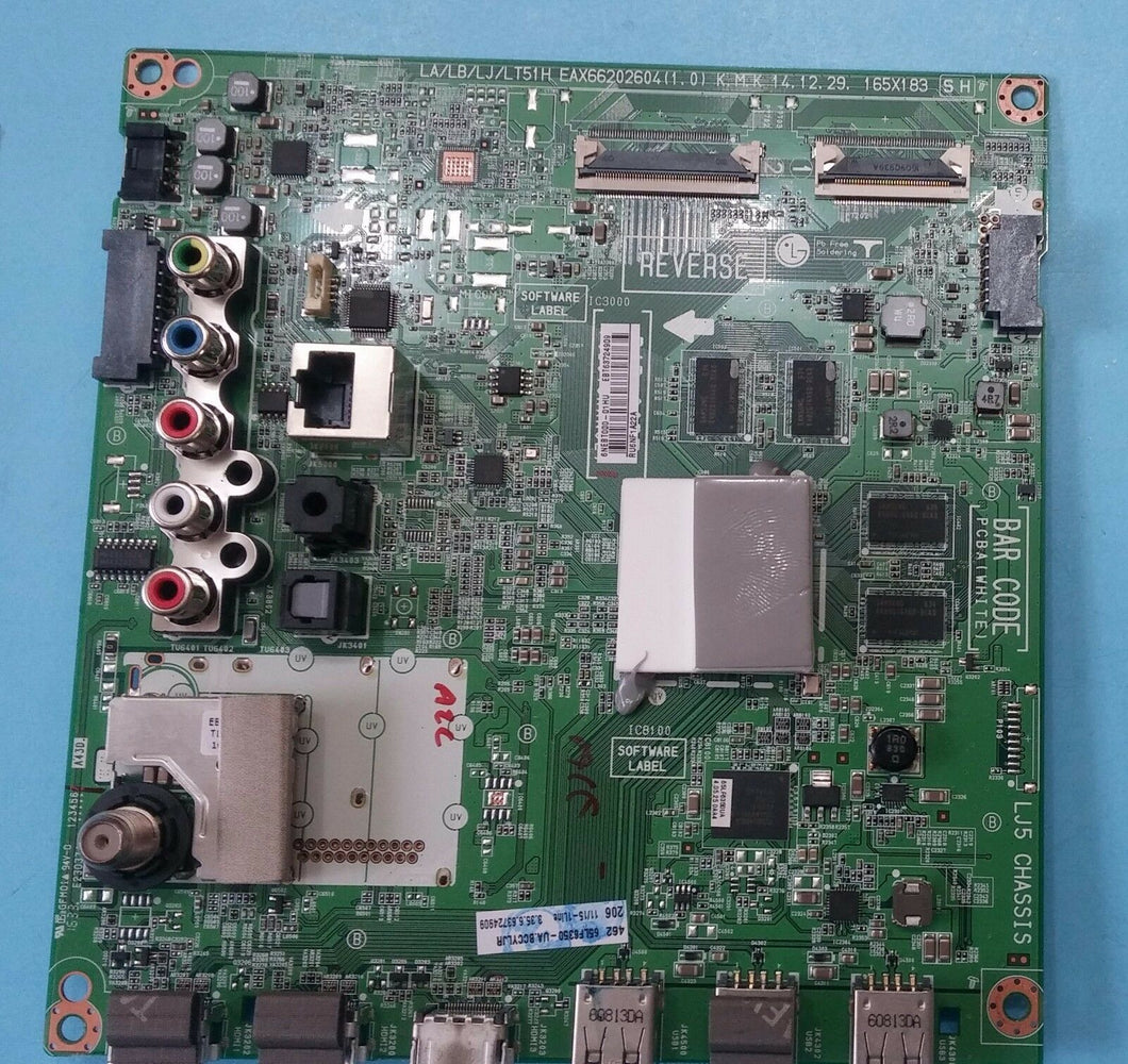 EAX66202604 EBT63724909  Main Board 65LF6350-UA LG - Electronics TV Parts - GalaParts.com
