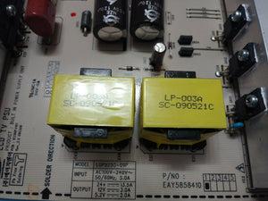 EAY5858410 LGP5255-09P POWER Board  55LH55 LG - Electronics TV Parts - GalaParts.com