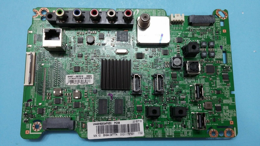 BN41-02245A BN94-09777A BN97-08781E UN40H5203AF SAMSUNG main board - Electronics TV Parts - GalaParts.com