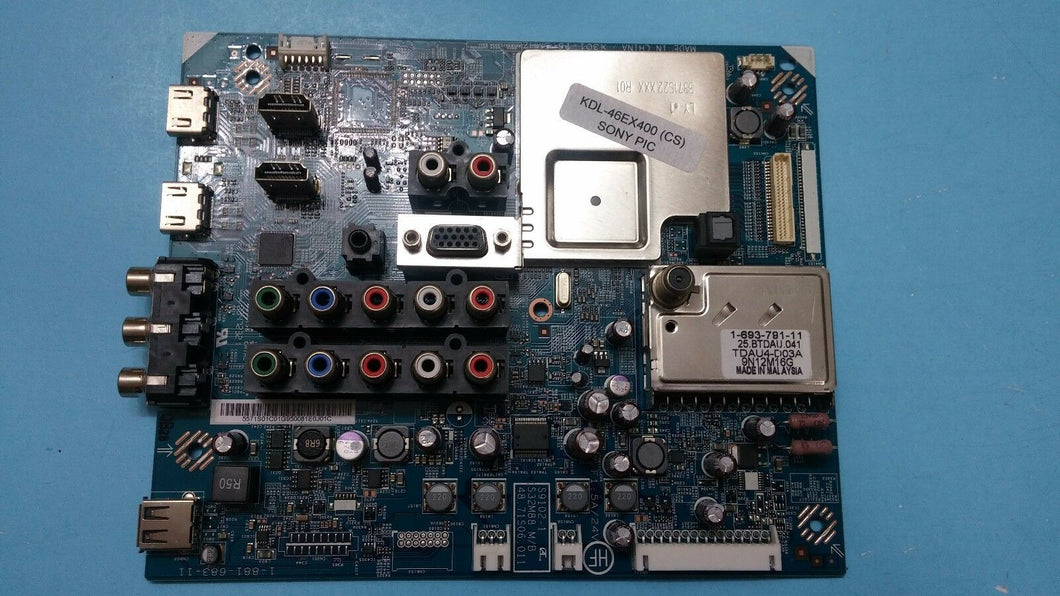 1-881-683-11  5571S01C01 S9102-1 S32M8848.71S06.011  KDL-46EX400 SONY MAIN BOARD - Electronics TV Parts - GalaParts.com