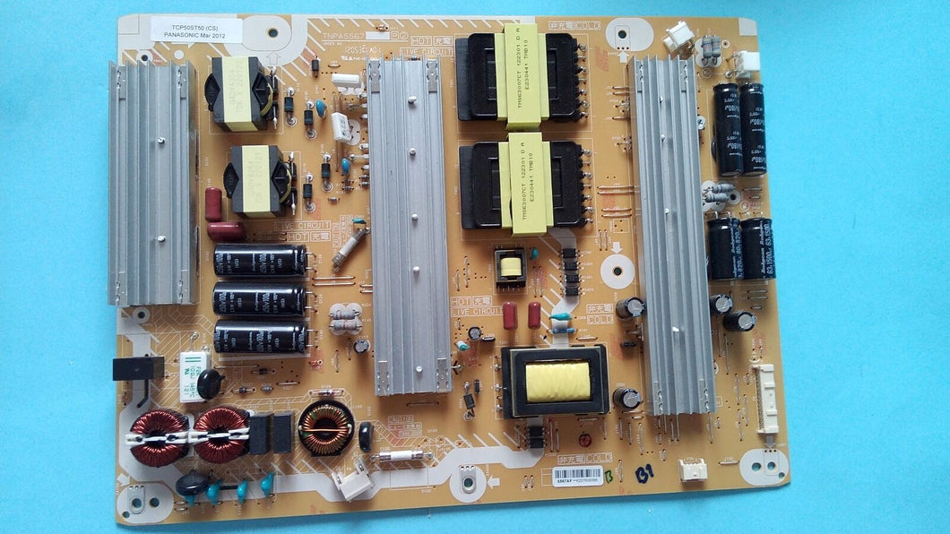 TNPA5567AF TCP50ST50 PANASONIC power supply - Electronics TV Parts - GalaParts.com