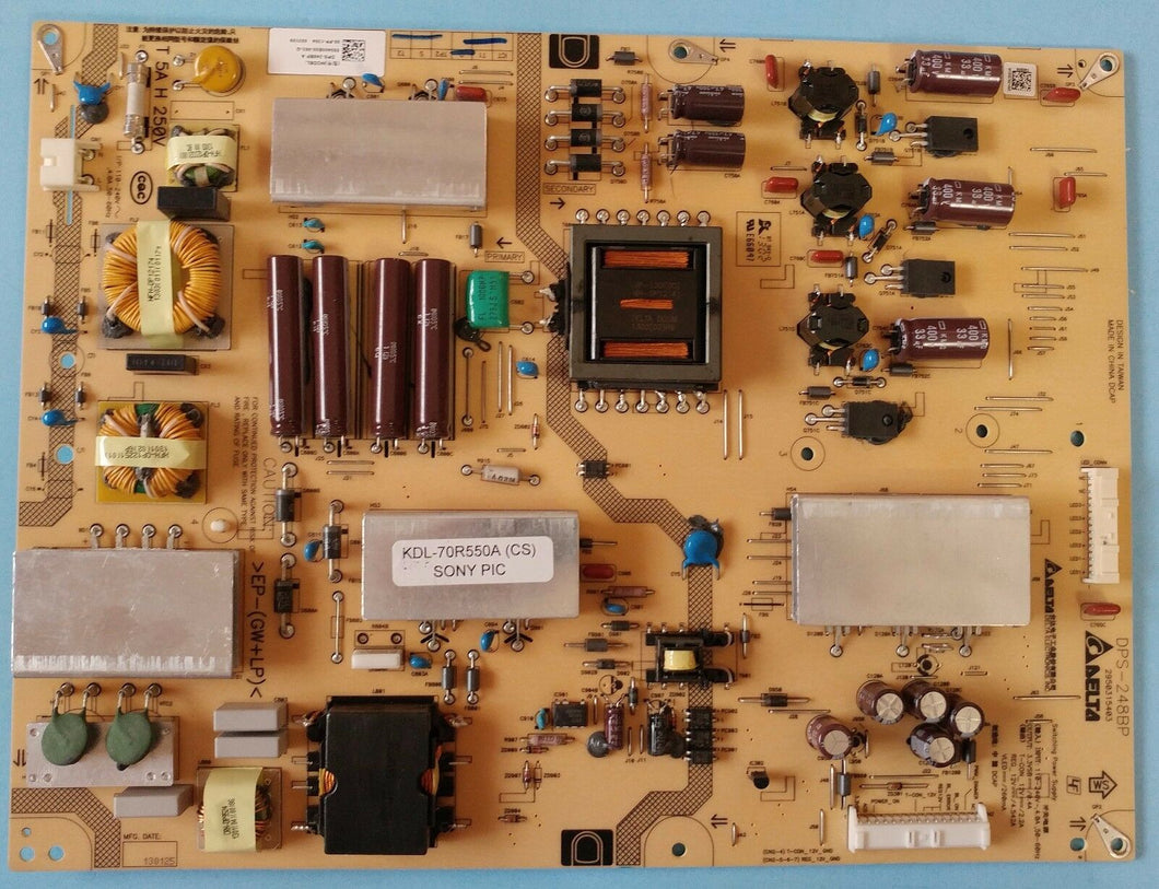 DPS-248BP A  2950315403  KDL-70R550A  SONY Power Supply / LED  board - Electronics TV Parts - GalaParts.com