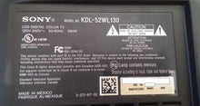 Load image into Gallery viewer, GF 2 1-873-814-14 A1362552C KDL-52W130 SONY POWER SUPPLY board