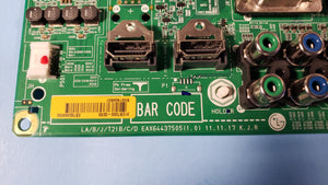 EAX64437505 55LM5850 EBT62049652 LG MAIN BOARD - Electronics TV Parts - GalaParts.com