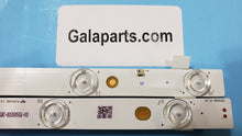 Load image into Gallery viewer, TB5509M LED strips TX-55DX600 TX-55AX630 PANASONIC brand new 16 pcs - Electronics TV Parts - GalaParts.com