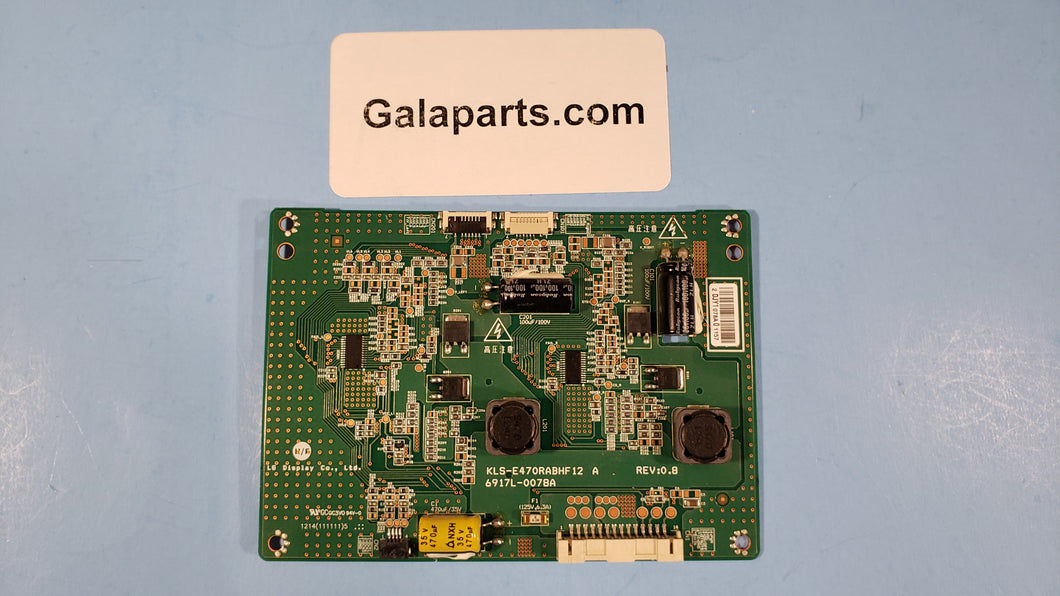 TC-L47E5  LED driver board KLS-E470RABHF12 6917L-0078A - Electronics TV Parts - GalaParts.com