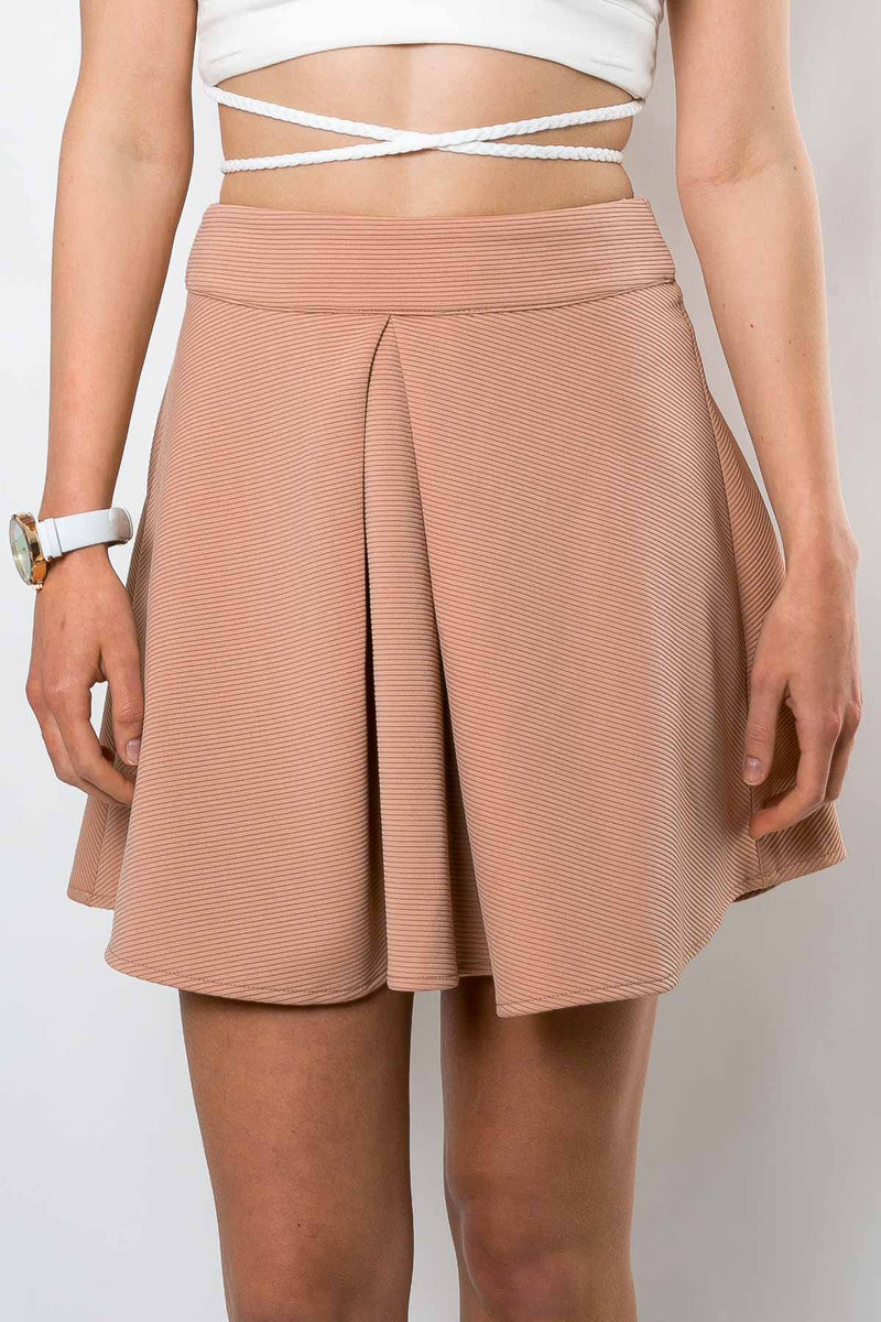 Moxie Skirt - Nude - Dolly Girl Fashion