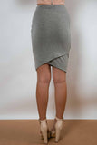 KAESS MINI SKIRT - Grey