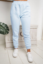 AMARA HIGH WAISTED TRACKPANTS - Blue