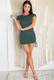 BASIC BABE MINI DRESS - Dark Teal