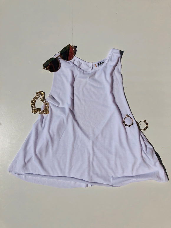 ENDI SLEEVELESS TOP - White