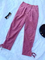 IRIAS PANTS - Plum