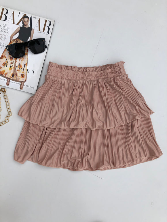 NANA MINI SKIRT - Blush
