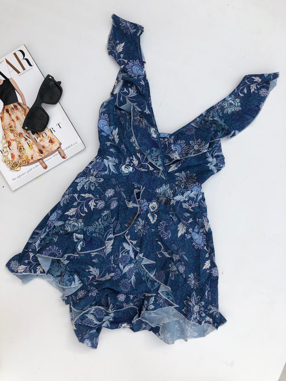 SHAYLE PLAYSUIT - Blue Print