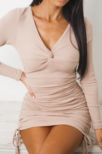 TESSA LONG SLEEVE MINI DRESS