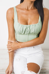 ANGEL CROP TOP - Mint