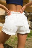 Bloomingdale Shorts - White