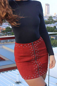 MURILLO SKIRT - Red