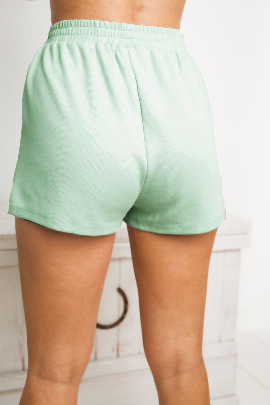 BRIANNA MINI SHORTS - Mint
