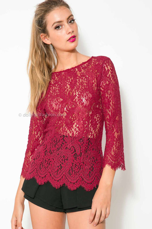 Style Top- Red