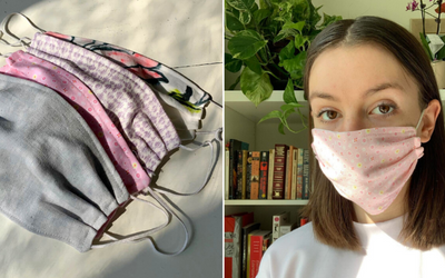 40 Canadian Fashion Brands That Are Now Making Non-Medical Masks | Elle Canada
