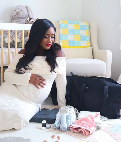 Packing Hospital Bag Essentials For Delivery With First Time Mom Mel | CARRY