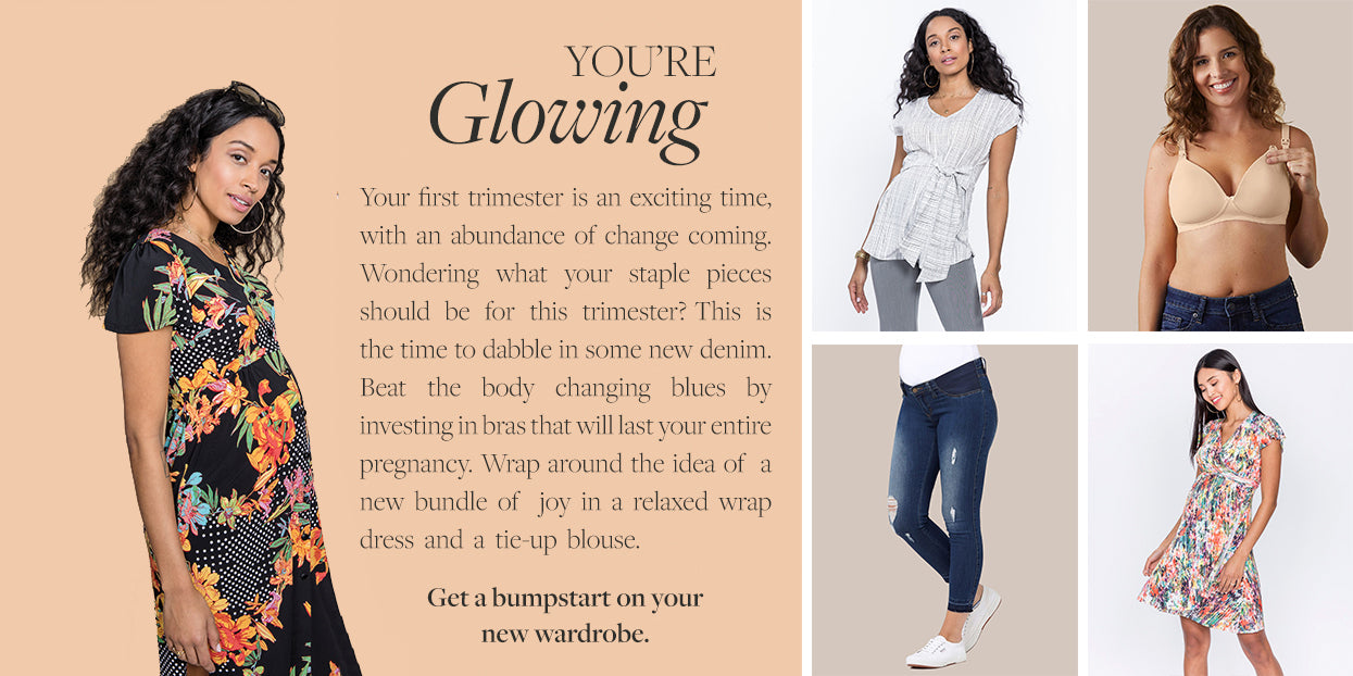 You're Glowing - Shop By Stage - First Trimester