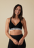 Black Original Soft Band Pullover Maternity & Nursing Bra