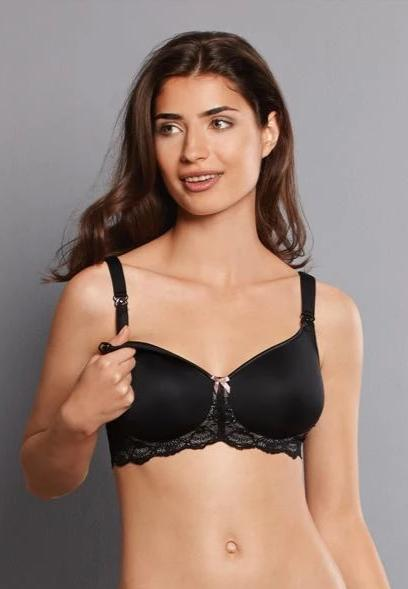 Miss Lovely Black Wireless Moulded Maternity & Nursing Bra