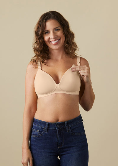 Buttercup Bare Wireless Maternity & Nursing T-Shirt Bra
