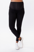 Black Bamboo Full Length Paneled Maternity Leggings | CARRY | Carry Maternity | Toronto Canada