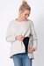 Nara Soft Grey Maternity & Nursing Sweatshirt | Seraphine | Carry Maternity | Toronto Canada