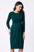Peachey Green Maternity & Nursing Dress | Seraphine | Carry Maternity | Toronto Canada