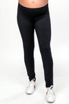Ronie Black Viscose Fleece Leggings | Velvet by Graham & Spencer | Carry Maternity | Toronto Canada