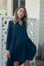 Sienna Navy Babydoll Maternity & Nursing Dress | Legoe Heritage | Carry Maternity | Toronto Canada