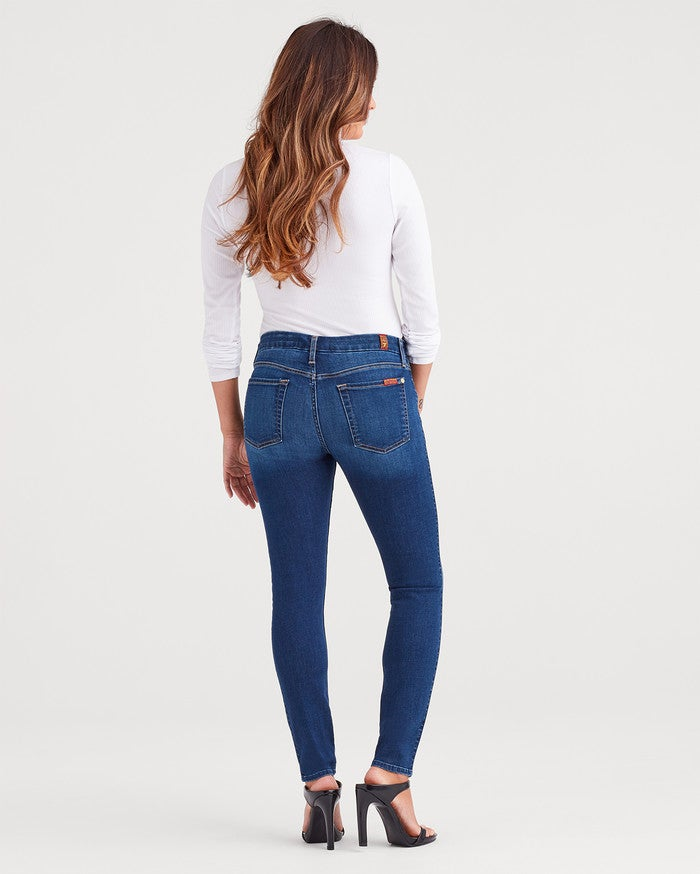 Maternity b(air) Duchess Denim Ankle Skinny