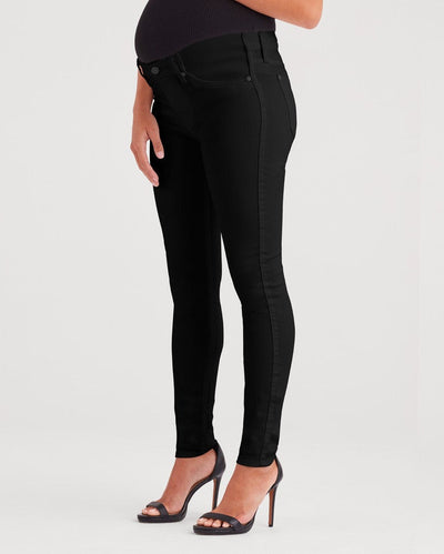 Maternity b(air) Black Denim Ankle Skinny