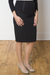 Quinn High Rise Paneled Maternity Pencil Skirt