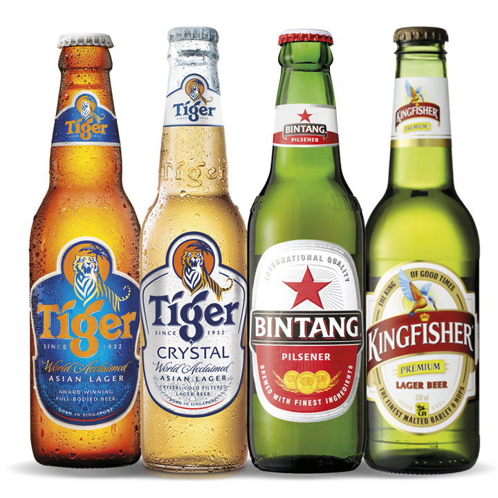 Asian Beer Mixed Carton