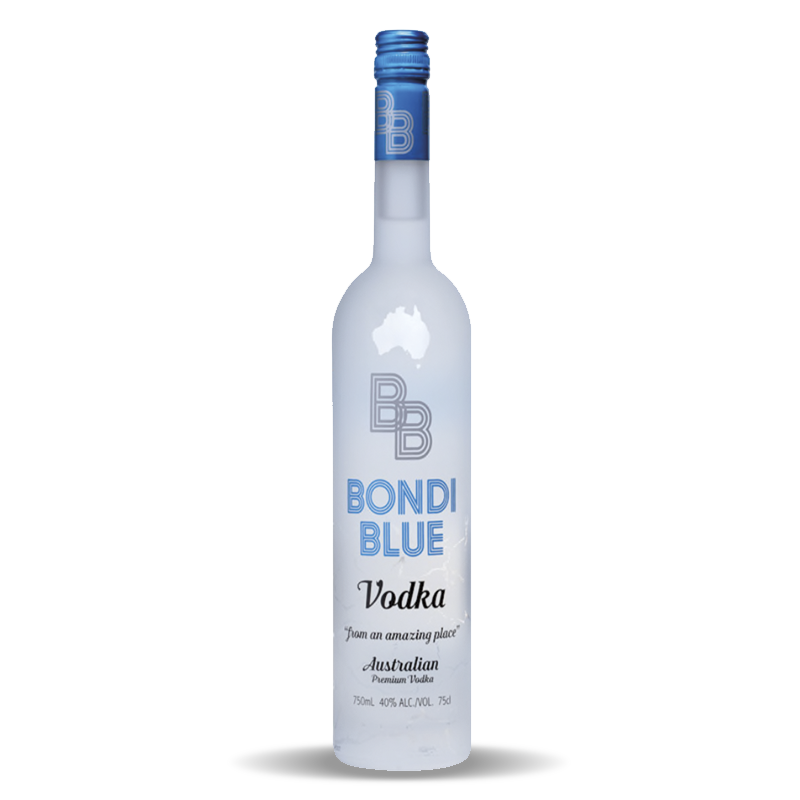 Bondi Blue Australian Vodka 750ml