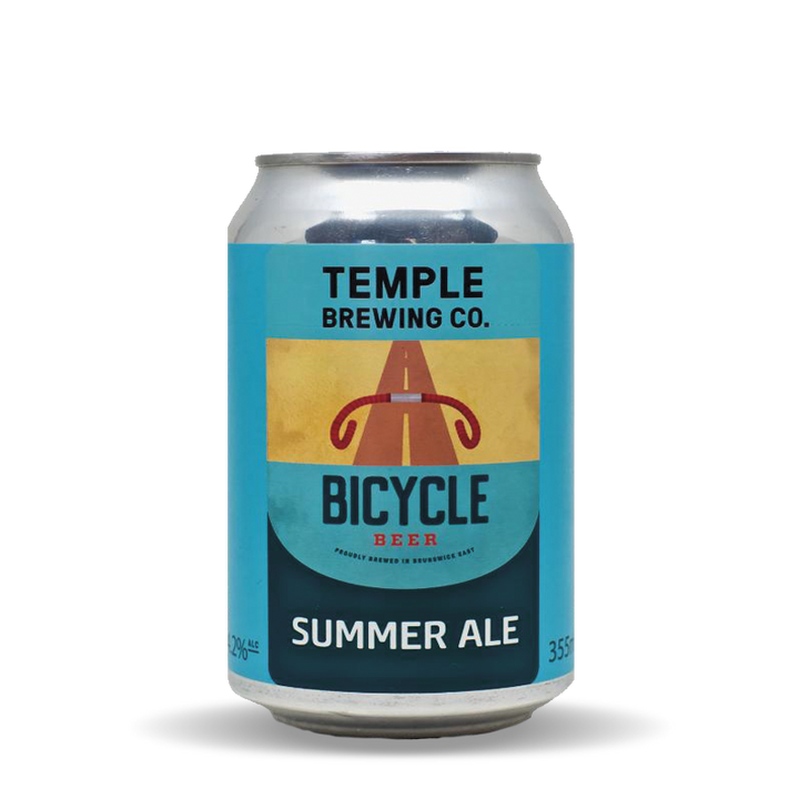 Temple Brewing Bicycle Beer Summer Ale Cans (24 x 355mL)