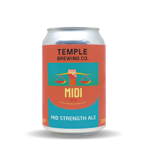 Temple Brewing Midi Cans (24 x 355mL)