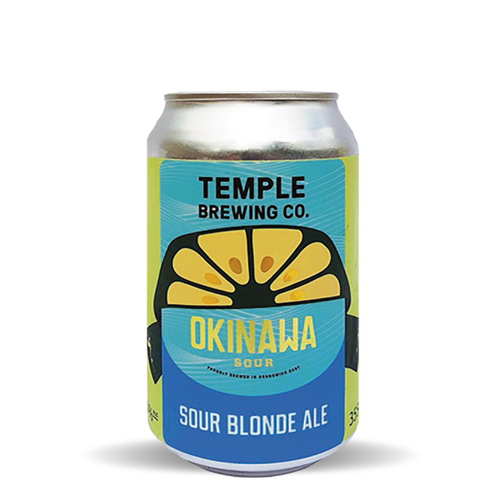 Temple Brewing Okinawa Sour Cans (24x355mL)