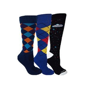 MOXY Socks Knee-High Styles DISCOUNT 3-Pack