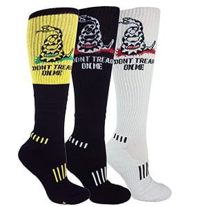 Don't Tread On Me Knee 3-Pack
