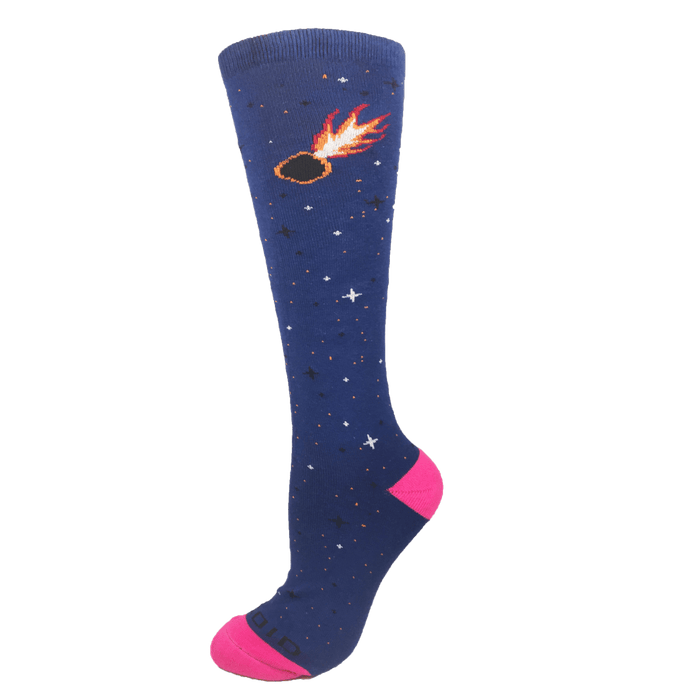 Galaxy Line Asteroid Performance Knee-High Socks