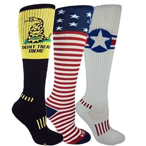 American Patriot 3-Pack Knee-High