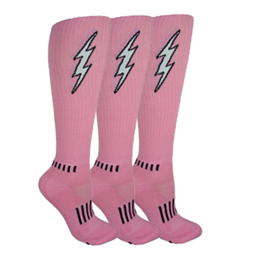 Pink with Black Insane Bolt 3-Pack