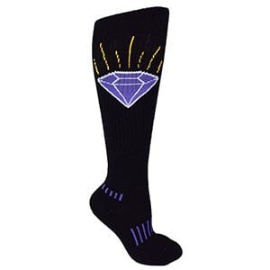 The Brilliant Purple Diamond Knee-High