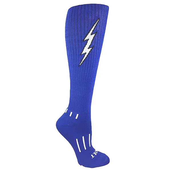 Royal Blue with Black Insane Bolt 3-Pack